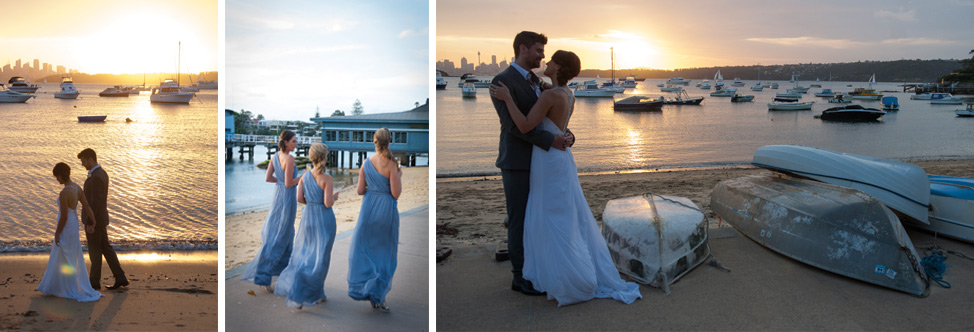 Wedding photography, Dunbar House, Watsons Bay